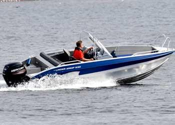Linder styrepultbåd