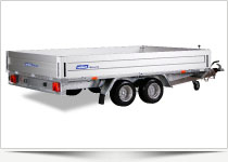 Højtbyggede trailere - Pro-Line serie