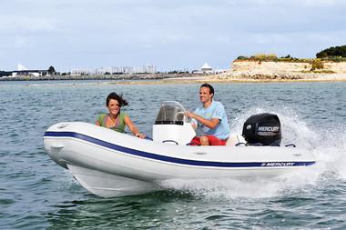 Mercury 420 Ocean Runner Rib m/Mercury F40 hk 4-takt - SPAR 27 % !