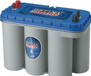 Batteri og udstyr
