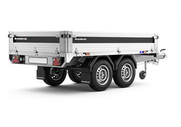 Brenderup 4260 ATB alu, 1300 kg - TILBUDSPRIS !